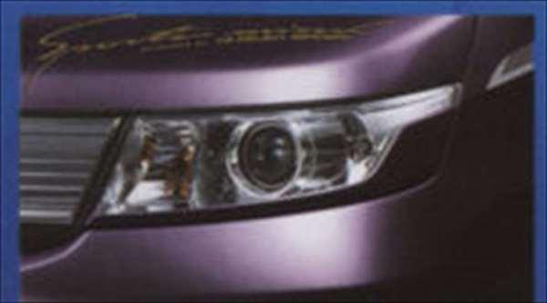 『ワゴンR』 純正 MH23S STINGRAY ヘッドランプガーニッシュ パーツ スズキ純正部品 ヘッドライトパネル 飾り カスタム wagonr オプション アクセサリー 用品