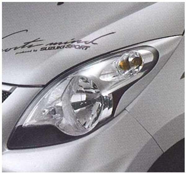 『セルボ』 純正 HG21 ヘッドランプガーニッシュ パーツ スズキ純正部品 ヘッドライトパネル 飾り カスタム cervo オプション アクセサリー 用品