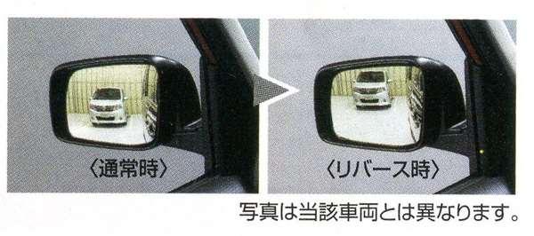 リバース連動下向きドアミラー(助手席側) ※ミラー本体ではありません K3EX0 モコ MG33S