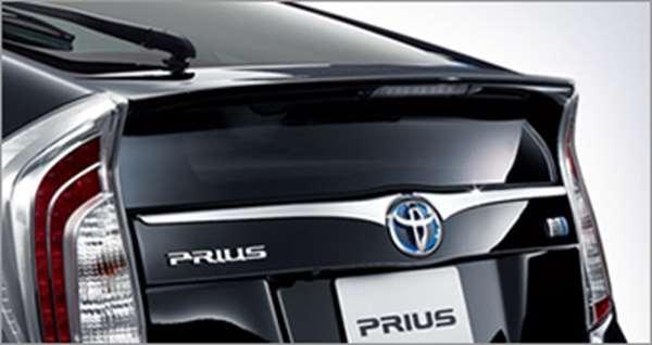 『プリウス』 純正 ZVW35 リヤガーニッシュ メッキ パーツ トヨタ純正部品 prius オプション アクセサリー 用品