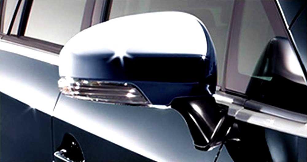 『プリウス』 純正 ZVW35 メッキドアミラーカバー パーツ トヨタ純正部品 サイドミラーカバー カスタム prius オプション アクセサリー 用品