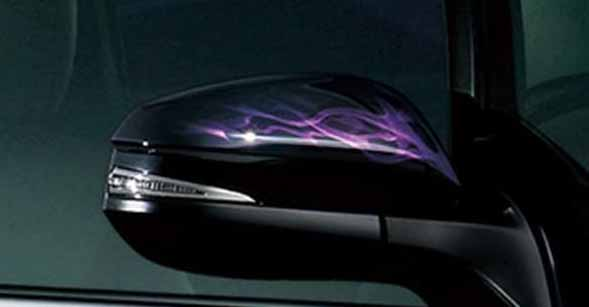 『エスクァイア』 純正 ZWR80G ドアミラーカバー 陽炎 パーツ トヨタ純正部品 サイドミラーカバー カスタム esquire オプション アクセサリー 用品