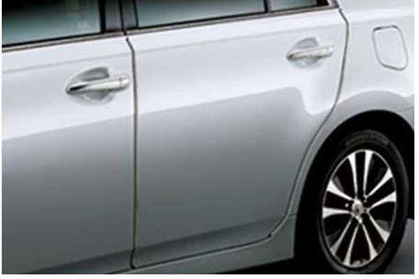 『sai』 純正 BEXSB ドアエッジプロテクター ステンレス製1台分セット パーツ トヨタ純正部品 ドアモール ドアエッジモール オプション アクセサリー 用品