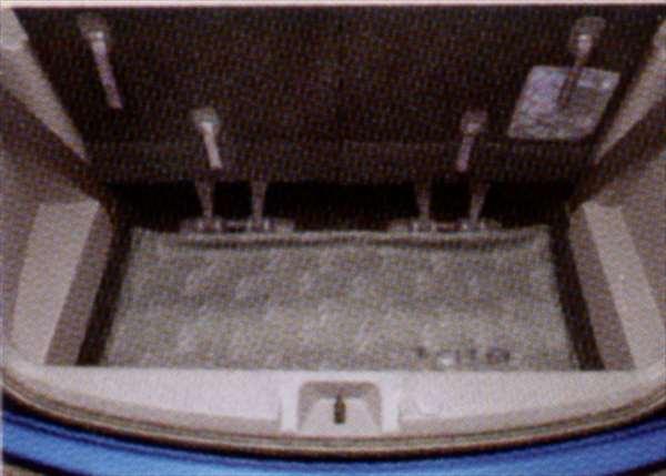 『アイシス』 純正 ANM10 ロングラゲージマット パーツ トヨタ純正部品 ラゲッジマット トランクマット 滑り止め isis オプション アクセサリー 用品