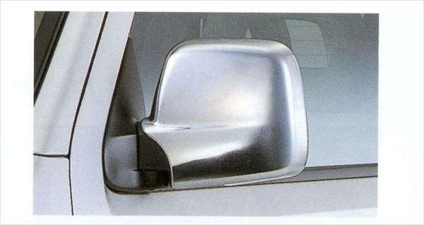 『ジムニー』 純正 JB23 ドアミラーカバー XG用 樹脂クロームメッキ左右セット パーツ スズキ純正部品 メッキ サイドミラーカバー カスタム jimny オプション アクセサリー 用品