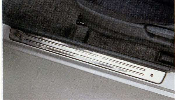 サイドシルスカッフ ステンレス左右セット ジムニー JB23 スズキ純正 ステップ 保護 プレート jimny パーツ 部品 オプション
