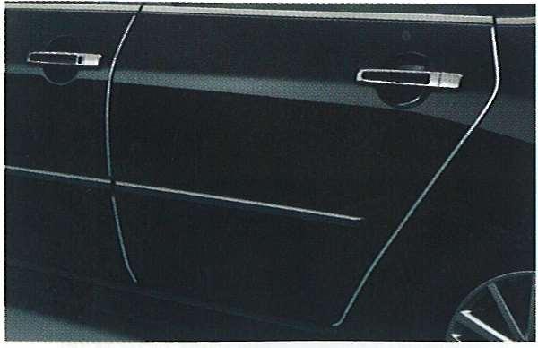 ドアエッジモール(ステンレス製)/1台分 31MN0 フーガ GY50