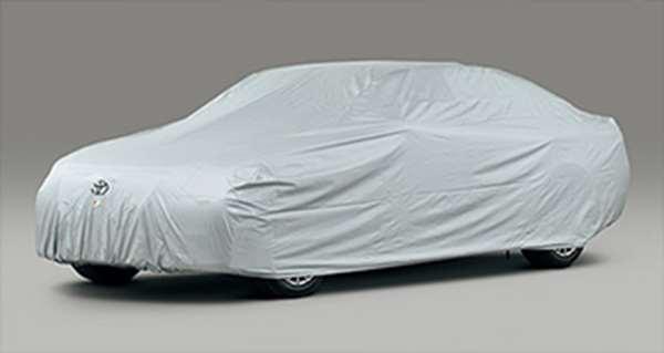 『クラウンマジェスタ』 純正 GWS214 AWS215 カーカバー 防炎タイプ(ドアミラー用) パーツ トヨタ純正部品 ボディカバー ボディーカバー 車体カバー crown オプション アクセサリー 用品