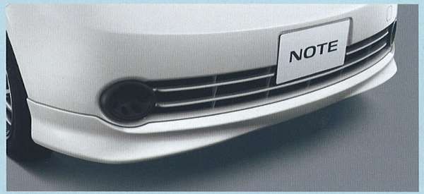フロントプロテクター ノート E11 NE11 日産純正 NOTE パーツ 部品 オプション