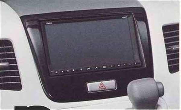 センターガーニッシュ(オーディオレス用)/ブラックウッド調 ワゴンR MH23S