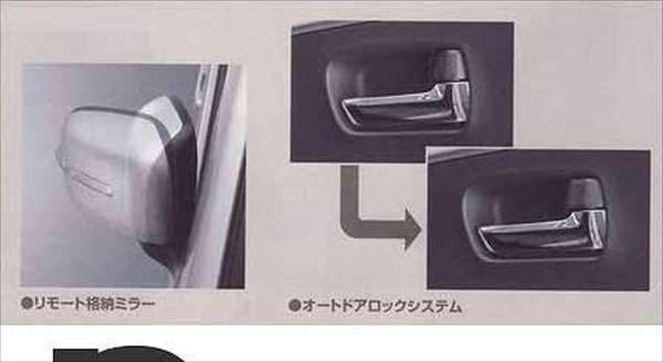 リモート格納ミラー&オートドアロックシステム ☆ ワゴンR MH23S