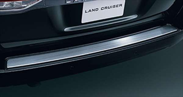 『ランドクルーザー200』 純正 URJ202W リヤバンパーステップガード SUS パーツ トヨタ純正部品 バンパーガード モール 保護 landcruiser オプション アクセサリー 用品