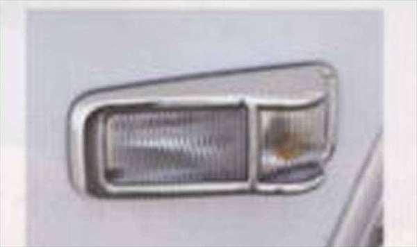 メッキサイドターンランプカバーセット フォワード FRR90 FSR90 FRR34