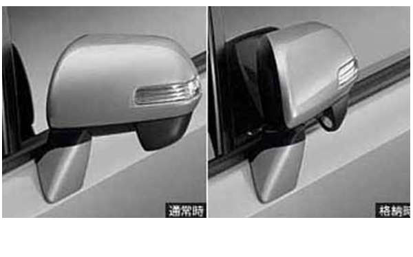 オートリトラクタブルミラー *ミラー本体ではありません ノア ZRR70 トヨタ純正 ドアミラー自動格納 駐車連動 noa パーツ 部品 オプション