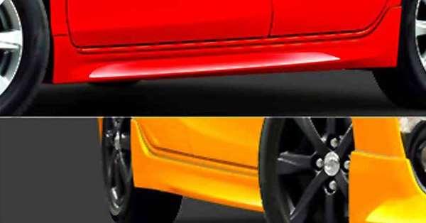 『アクア』 純正 NHP10 サイドマッドガード パーツ トヨタ純正部品 aqua オプション アクセサリー 用品