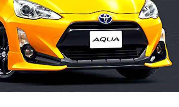 『アクア』 純正 NHP10 フロントスポイラー 大型 パーツ トヨタ純正部品 カスタム エアロパーツ aqua オプション アクセサリー 用品