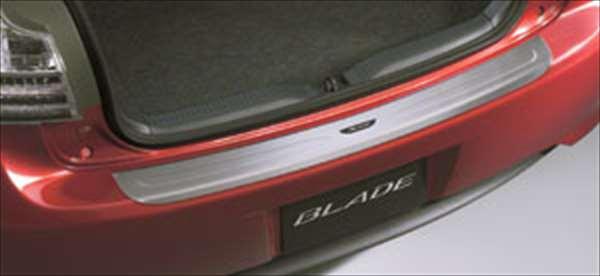 『ブレイド』 純正 AZE156 AZE154 GRE156 リヤバンパーステップガード パーツ トヨタ純正部品 バンパーガード モール 保護 blade オプション アクセサリー 用品