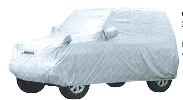 『パジェロミニ』 純正 H53 H58A ボディカバー パーツ 三菱純正部品 PAJERO オプション アクセサリー 用品