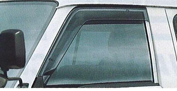 『バネット』 純正 SK82 SK22 プラスチックバイザー(スモークタイプ:フロント左右セット) PDHJ0 パーツ 日産純正部品 ドアバイザー サイドバイザー VANETTE オプション アクセサリー 用品