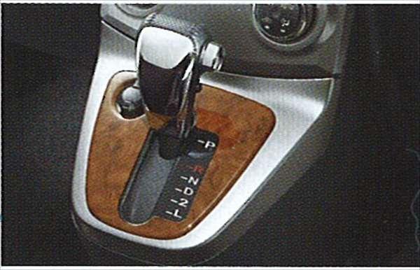 『ビーゴ』 純正 J200 J210 ウッド調ATベゼルパネル パーツ ダイハツ純正部品 be-go オプション アクセサリー 用品