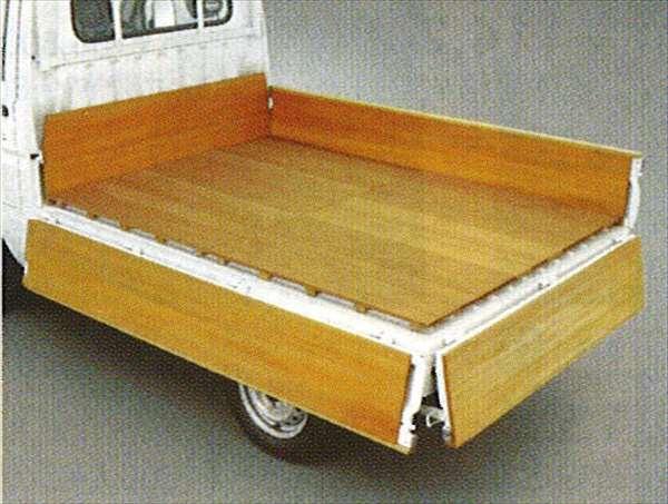 『ハイゼットトラック』 純正 S201 S211 木製フロアデッキ(キャビン部のみ) パーツ ダイハツ純正部品 荷台 保護 hijettruck オプション アクセサリー 用品