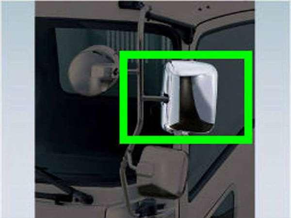 『フォワード』 純正 FRR90S2 メッキミラーカバー 左 パーツ いすゞ純正部品 ドアミラーカバー サイドミラーカバー カスタム オプション アクセサリー 用品
