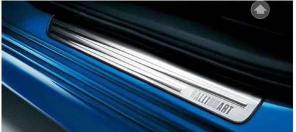 『ギャランフォルティス』 純正 CY4A スカッフプレート(RALLIART) パーツ 三菱純正部品 ステップ 保護 プレート GALANTFORTIS オプション アクセサリー 用品