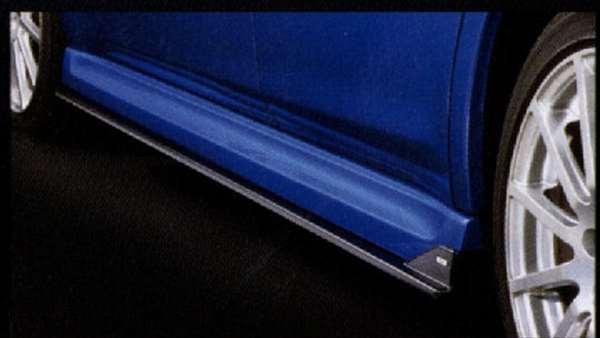 STI サイドアンダースポイラー レガシィ BPE BP5 BLE BL5 BP9 スバル純正 サイドスポイラー カスタム エアロパーツ legacy パーツ 部品 オプション