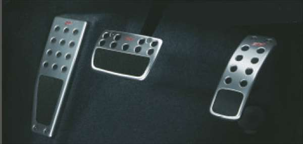 【レヴォーグ】純正 VM4 STIペダルパッドセット(AT) パーツ スバル純正部品 LEVORG オプション アクセサリー 用品