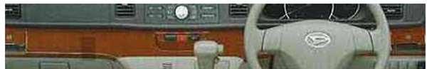 『アトレー』 純正 S321G S331G ブラウンウッド調インパネミドルパネル パーツ ダイハツ純正部品 atrai オプション アクセサリー 用品