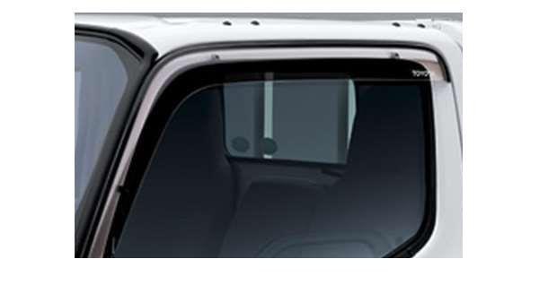 『ダイナ、トヨエース(標準キャブ、ダンプ)』 純正 XZC610 XZU610 XZU620 サイドバイザー ベーシック パーツ トヨタ純正部品 ドアバイザー 雨よけ 雨除け dyna オプション アクセサリー 用品