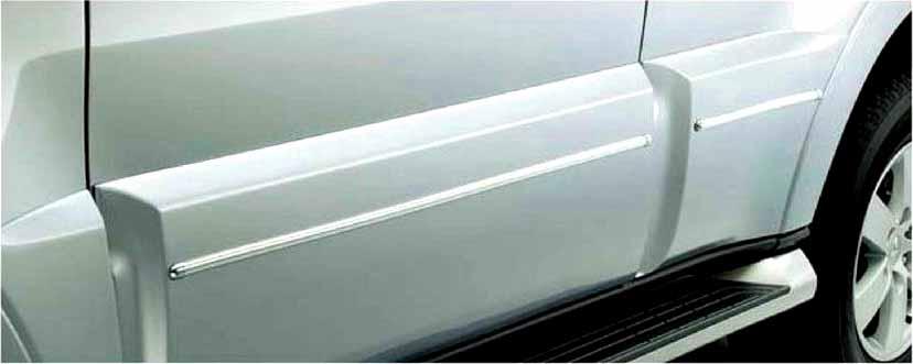 『パジェロ』 純正 V83W サイドドアガーニッシュモール パーツ 三菱純正部品 PAJERO オプション アクセサリー 用品