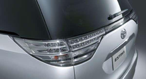 『エスティマ』 純正 ACR50 クリアコンビネーションランプ リヤ・交換式 パーツ トヨタ純正部品 テールランプ リアランプ クリアレンズ estima オプション アクセサリー 用品