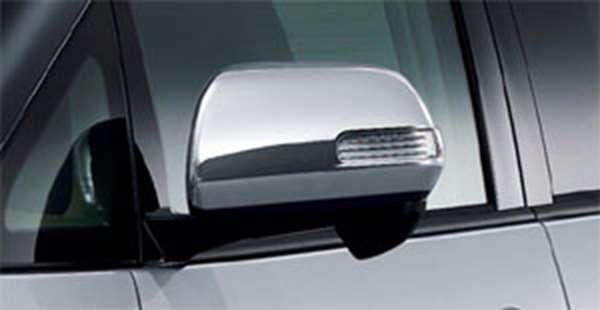 『エスティマ』 純正 ACR50 メッキドアミラーカバー パーツ トヨタ純正部品 サイドミラーカバー カスタム estima オプション アクセサリー 用品