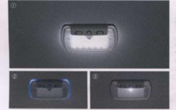 LEDルーフ照明(交換タイプ1個入り/室内照明、ブルーイルミネーション、スポットライト) インサイト ZE2 ZE3