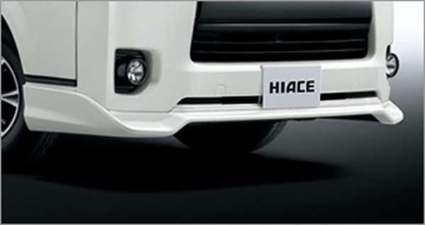 『ハイエース』 純正 KDH201V フロントスポイラー パーツ トヨタ純正部品 hiace オプション アクセサリー 用品