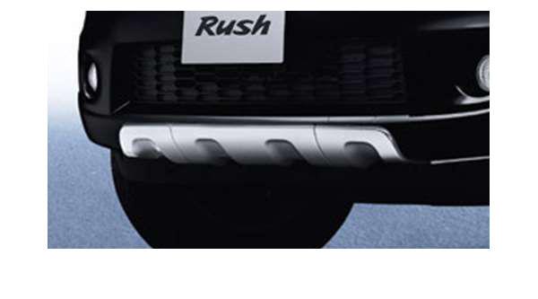 フロントバンパープロテクター ラッシュ J210E トヨタ純正 rush パーツ 部品 オプション
