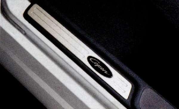 新作 大人気 コペン 純正 L880K アルミスカッフプレートカバー パーツ ダイハツ純正部品 ステップ オプション プレート copen 業界No.1 アクセサリー 用品 保護