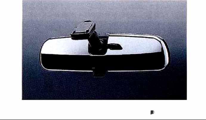 『コペン』 純正 L880K インナーミラーカバー(メッキ) パーツ ダイハツ純正部品 メッキ ルームミラールームミラーカバー copen オプション アクセサリー 用品