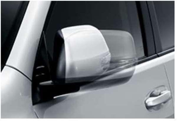 『ランドクルーザープラド』 純正 GKAGK オートリトラクタブルミラー ※ミラー本体ではありません パーツ トヨタ純正部品 ドアミラー自動格納 駐車連動 landcruiser オプション アクセサリー 用品