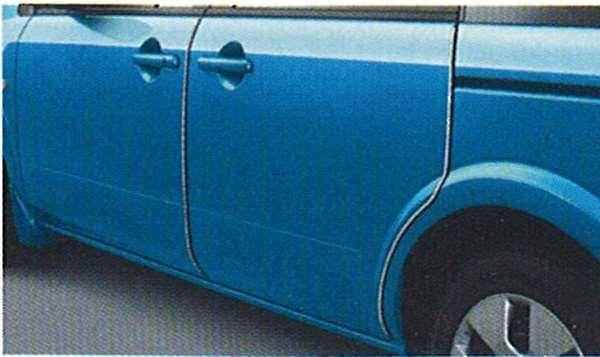 『ラフェスタ』 純正 B30 NB30 ドアエッジモール(ステンレス製) RDMN0 パーツ 日産純正部品 ドアモール 保護 ワンポイント LAFESTA オプション アクセサリー 用品