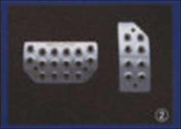 『ジムニー』 純正 JB23W アルミペダルセット AT車用 パーツ スズキ純正部品 アクセルペダル ブレーキペダル jimny オプション アクセサリー 用品