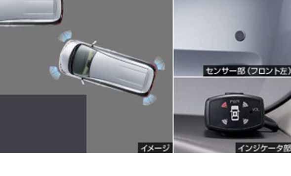 『エスティマ』 純正 GSR50W GSR55W ACR50W A コーナーセンサー ボイス4センサー パーツ トヨタ純正部品 危険察知 接触防止 セキュリティー estima オプション アクセサリー 用品