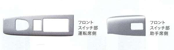 インテリアパネル(フロントスイッチ部2枚セット) NBOX JF1