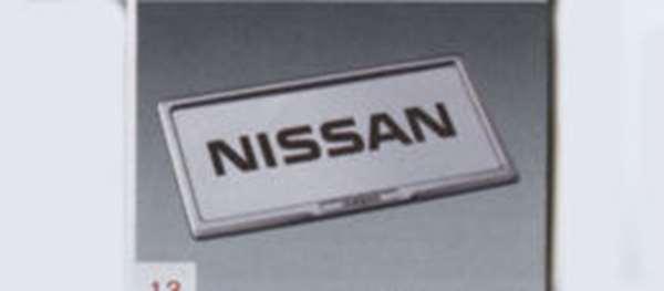ナンバープレートリムセット1枚からの販売※リヤ封印注意 ノート E12 NE12