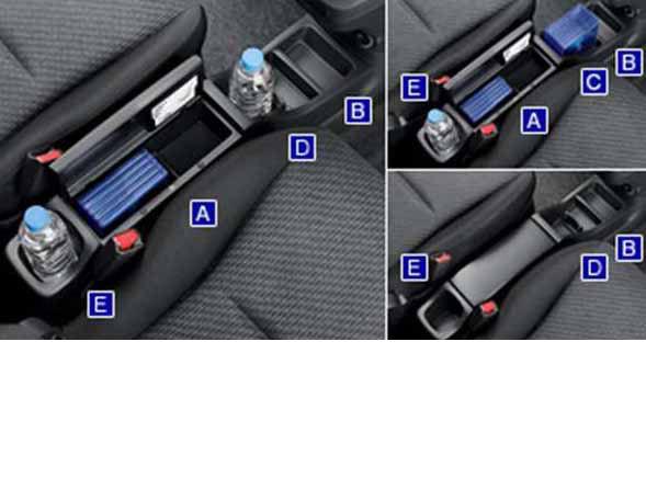 『ラクティス』 純正 NCP120 コンソールボックス パーツ トヨタ純正部品 ractis オプション アクセサリー 用品