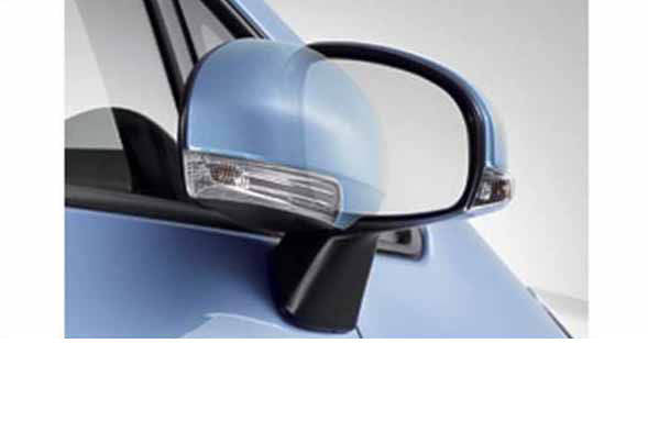 『ラクティス』 純正 NCP120 オートリトラクタブルミラー ※ミラー本体ではありません パーツ トヨタ純正部品 ドアミラー自動格納 駐車連動 ractis オプション アクセサリー 用品