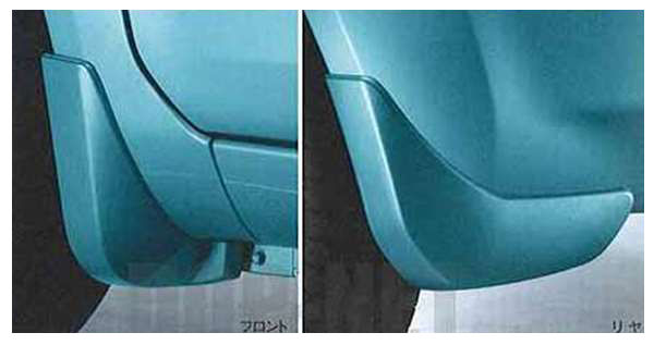 『スプラッシュ』 純正 XB32S マッドフラップセット パーツ スズキ純正部品 マッドガード マットガード 泥よけ splash オプション アクセサリー 用品