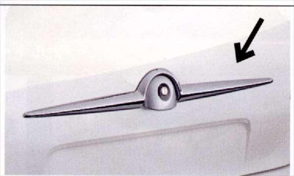 『シボレーMW』 純正 ME34S リヤオーナメント(樹脂クロームメッキ) パーツ スズキ純正部品 メッキ Chevroletmw オプション アクセサリー 用品