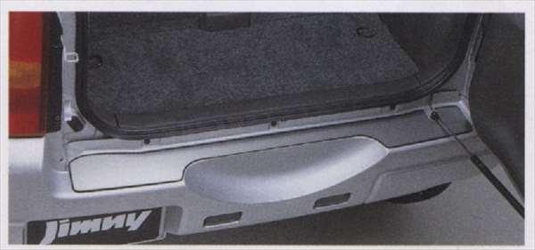 『ジムニー』 純正 JB23W リヤバンパープレート パーツ スズキ純正部品 jimny オプション アクセサリー 用品